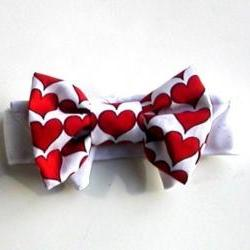 Bow tie Dog: Hearts for that Valentine Wedding
